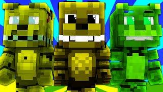 FNAF World - PLUSHTRAP! (Minecraft Roleplay) Night 18