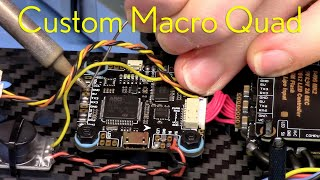 Custom FPV Macro Quad Build // Part 3 - FC, camera, VTX, GPS // Chill soldering session