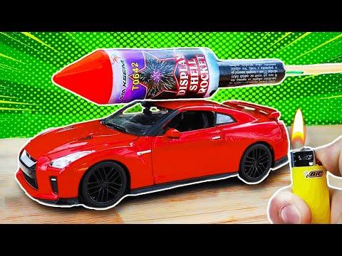 Insane Rocket Car Experiment