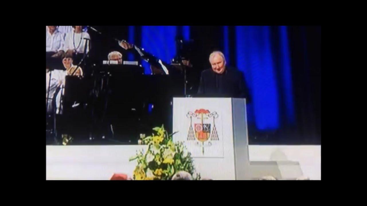 Eröffnungsrede Dietmar Giebelmann beim Festakt zum 80. Geburtstag und Abschied von Kardinal Lehmann