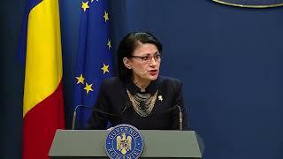 4/24/19 : Declarații De Presă Susținute De Ecaterina Andronescu Ministrul Educatiei Nationale