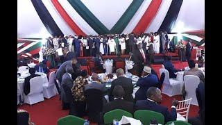 Kenyatta leads nation in prayer breakfast - VIDEO