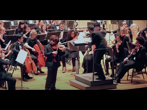 Elgar Violin Concerto, Performed by violinist Brian Bak with the Stony Brook Symphony Orchestra.
