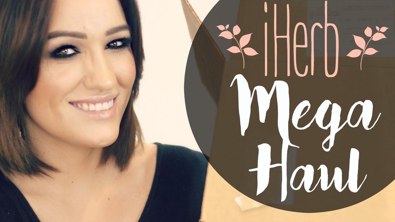 MEGA HAUL IHERB: Cosmética, maquillaje y comida!