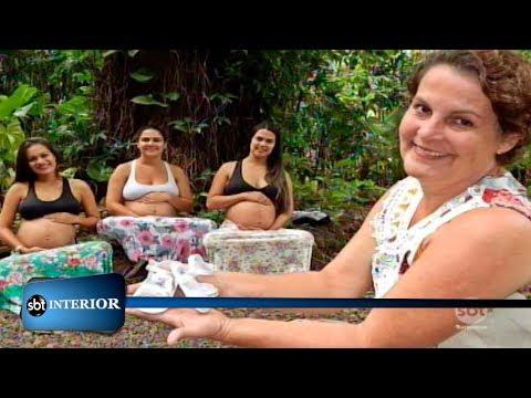 Em Birigui uma mulher tem as quatro filhas grávidas ao mesmo tempo