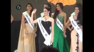 Miss International Myanmar 2014 Crowning of Khin Wai Phyo Han