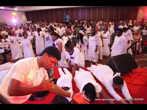 Steve Crown shutdown Abuja at white worship 2018