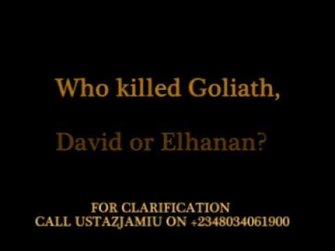 USTAZJAMIU VS PASTOR SAKIRU SHOLAJA,...WHO KILLED GOLIATH ?