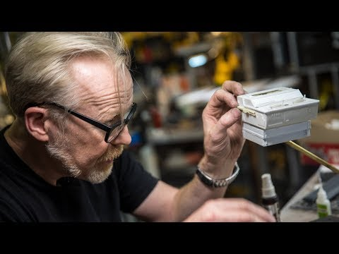 This man is a national treasure, and possibly the new Bob Ross (Adam Savage's One Day Builds: Kit-Bashing and Scratch-Building!)