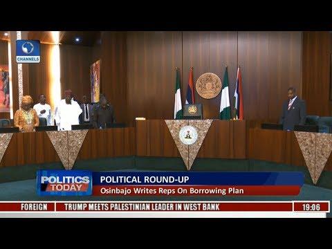 Politics Today: Osinbajo Writes Reps On Borrowing Plan