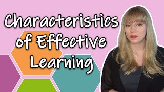 Characteristics Of Effective Learning | EYFS