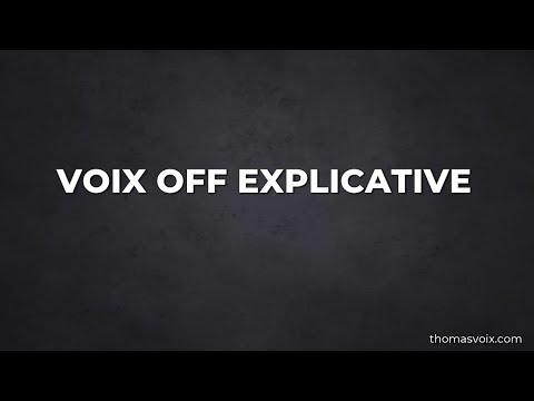 Thomas voix off Voiceover Studio Finder