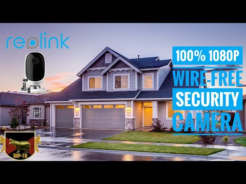 Reolink Argus 100% Wire-Free Battery-Powered Indoor/Outdoor Camera - Unboxing, Setup & Demo