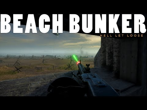 MG42 BUNKER LAST STAND - Hell Let Loose Gameplay