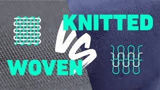 Knitted Vs. Woven Fabrics - What's The Difference???