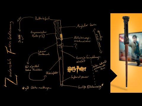 So programmiert ihr die Harry Potter-Zauberstab-Fernbedienung