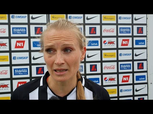 Lilja Dögg: Þetta var algjör skita