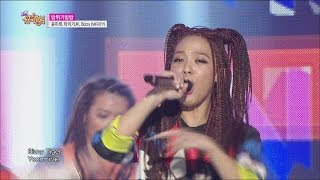 [HOT] Yoonmirae, TIGER JK, BIZZY(MFBTY) - Bang Diggy Bang Bang Show Music core 20150404
