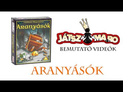 Aranyásók bemutató - Jatszma.ro
