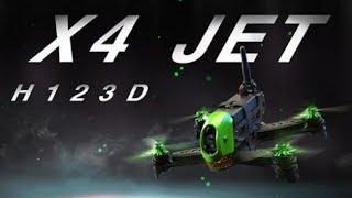 Hubsan X4 H123D Brushless FPV RC Drone
