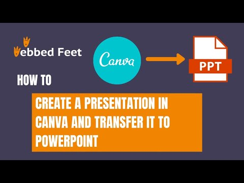 How to Create a Presentation in Canva and Transfer it to PowerPoint