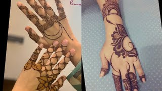 Dubai Mehendi Designs For Hands||Arabic Henna Designs
