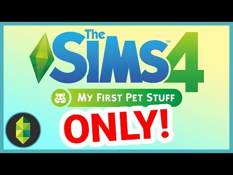I was paid $100 to build with My First Pet Stuff... help me (Sims 4 House Build)