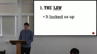 """10 October 2021 – """"The Law And The Christ"""" – Galatians 3:23-29 – By Stan Leenders"""