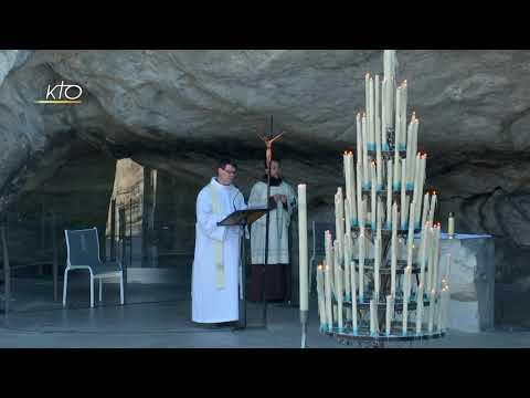 Chapelet à Lourdes du 4 avril 2020