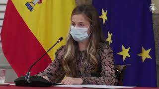Palabras de SAR la Princesa de Asturias y de Girona en la Reunión del Patronato de la Fundación Princesa de Girona (FPdGI)