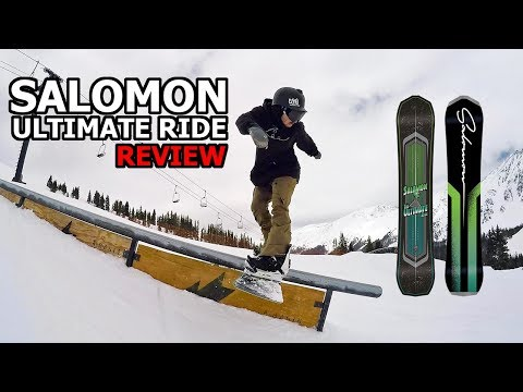 Salomon Ultimate Ride Snowboard Review