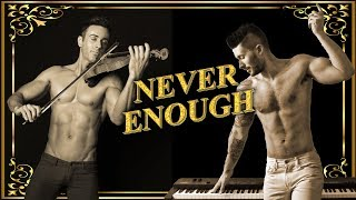 Never Enough – The Greatest Showman – Violin & Piano