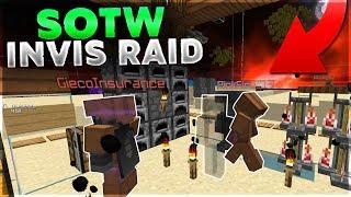 SOTW INVIS RAID - VELTPVP   Minecraft HCF