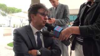 preview picture of video 'Presidente Comitato Italiano Paralimpico al Salaria Sport Village'