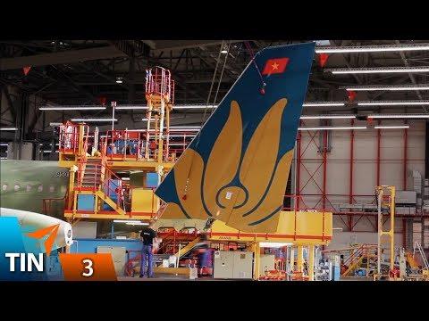 TIN #3: Hé lộ máy bay mới Vietnam Airlines - Airbus A330-800 cất cánh   Yêu Máy Bay