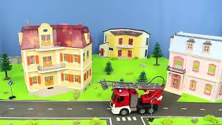 Fire Truck, Excavator, Police Cars, Concrete Mixer, Dump Trucks & Tractor RC Toy Vehicles for Kids