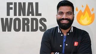 Dear All - Chaliye Khatam Karte Hai...