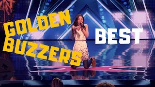 """Top 3 BEST """"GOLDEN BUZZERS"""" AUDITIONS EVER ON America"""