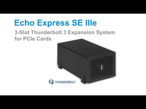 Sonnet Echo Express SE IIIe Quick Product Overview