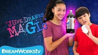 Vanishing Soda Trick   JUNK DRAWER MAGIC