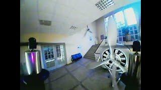 Eachine QX90 Indoor/Outdoor Flight [RAW FPV]