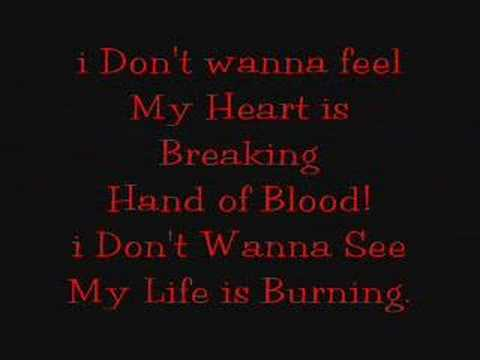 Bullet For My Valentine - Hand of Blood (Lyrics)