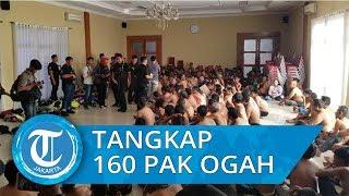 162 Pak Ogah Diamankan Polisi di Tangerang, 4 Positif Narkoba