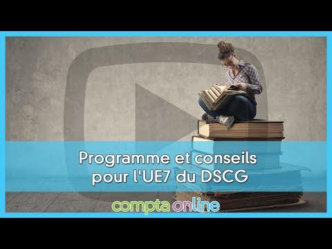 Le programme de DSCG UE7