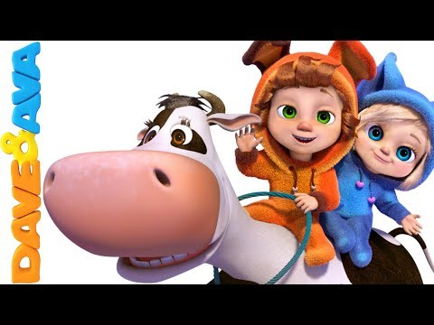 🐮 Nursery Rhymes & Farm Animals Songs   Nursery Rhymes and Baby Songs from Dave and Ava 🐓