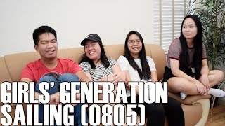 Girls' Generation (소녀시대)- Sailing (0805) (Reaction Video)