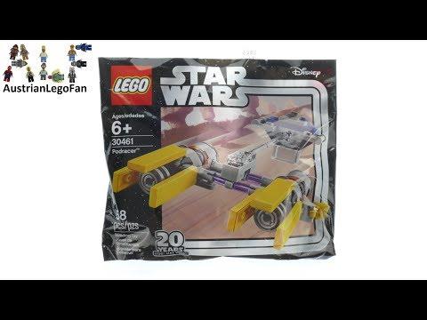 Vidéo LEGO Star Wars 30461 : Podracer (Polybag)