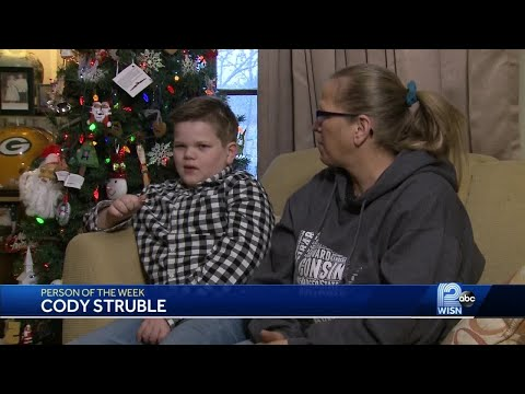 Person of the week: Cody Struble