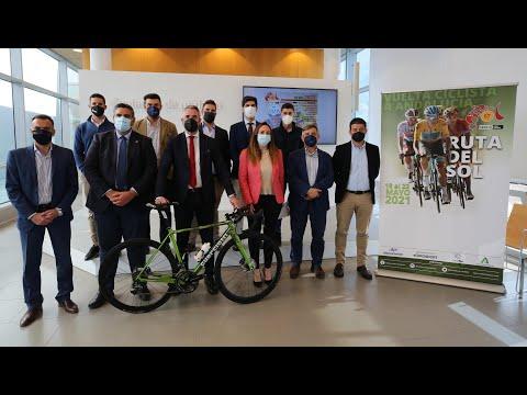 Presentación de la 67ª Vuelta Ciclista Andalucía Ruta del Sol 2021