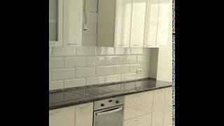 Кухня  фото № 38 фасад постформинг цвет Белый. от компании Фаберме - видео 2